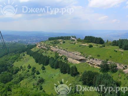 Вид с пика верхнего курортного парка